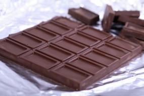 кусок, плитка, фольга, шоколад