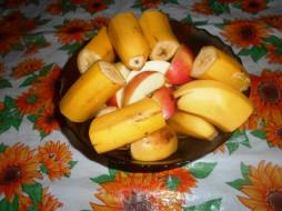 еда, бананы, фрукты