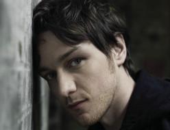актер, James McAvoy, лицо, стена