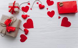 праздничные, день святого валентина,  сердечки,  любовь, сердце, подарок, любовь, valentine's, day, romantic, wood, heart, love, red, сердечки
