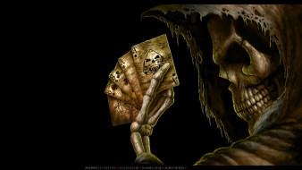 череп, карта