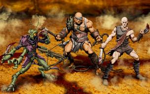 видео игры, arena of blood, существа, фон