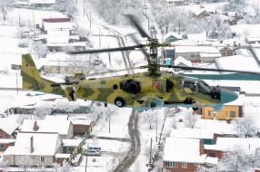 полёт, вертолёт, КА- 52, вертушка, Аллигатор