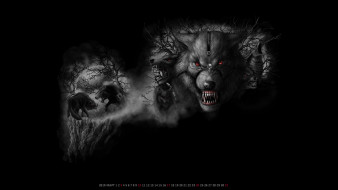 оборотень, волк