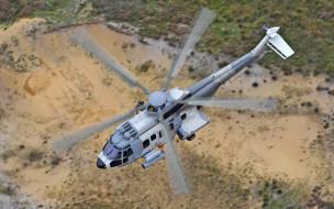 военно транспортный вертолет, airbus helicopters, eurocopter ec725 caracal