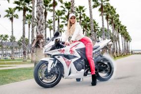 мото, мотоциклы, девушка