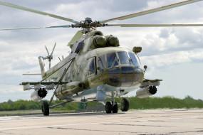 МИ- 8, вертолёт, вертушка, аэродром