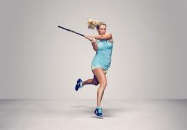 взгляд, фон, ракетка, теннис, CoCo Vandeweghe, девушка