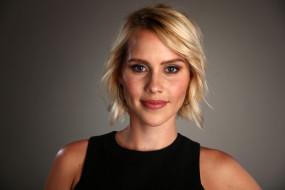 лицо, улыбка, блондинка, Claire Holt