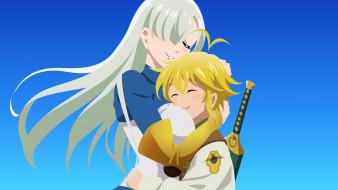 аниме, nanatsu no taizai, пара