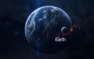 Звезды, Планета, Космос, Земля, Планеты
