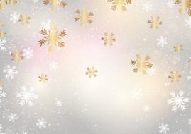 снежинки, фон, снег