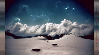 планета, облако