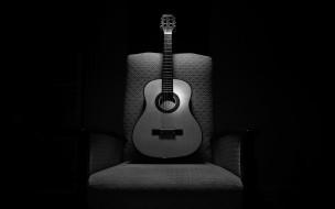 кресло, гитара