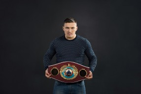 пояс, фон, aleksandr usyk, украина, чемпион, боксер, александр усик