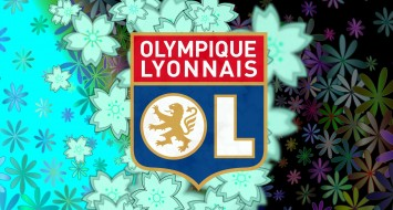 Olympique Lyonnais, фон, логотип
