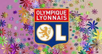 фон, логотип, Olympique Lyonnais