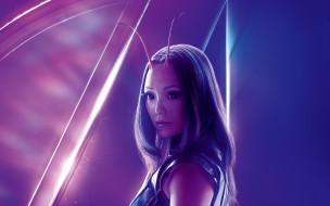 Avengers: Infinity War обои для рабочего стола 1920x1200 avengers,  infinity war, кино фильмы, фэнтези, боевик, фантастика, пом, клементьефф, постер, mantis, мстители, война, бесконечности