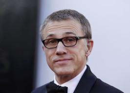 актер, очки, лицо, Christoph Waltz