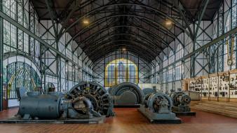 механизмы, Дортмунд, Zeche Zollern, музей, Германия