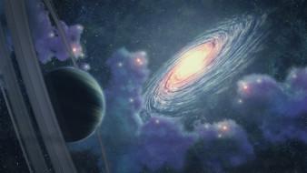 галактика, планеты, вселенная, звезды