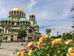 софия, города, - православные церкви,  монастыри, город, александра, невского, собор, храм, болгария