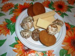 печенье, вафли, еда
