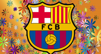 фон, FC, Barcelona, логотип