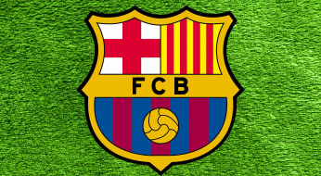 логотип, фон, FC, Barcelona