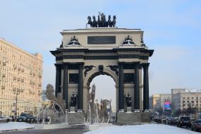Кутузовский, проспект, Москва, Россия, Арка, Триумфальная