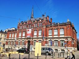 хельсинки, города, хельсинки , финляндия, музей, здание, город