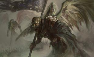 нежить фон, крылья