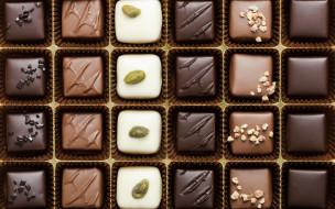 ассорти, конфеты, сладости, шоколадные, коробка