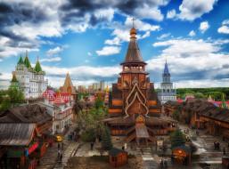 Измайлово, Россия, город, кремль, Москва