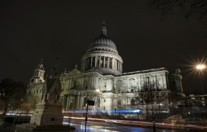 ночь, огни, Лондон