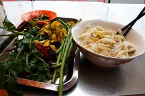 камбоджийская, кухня, лапша