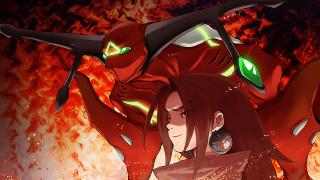 аниме, shaman king, зик