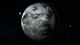 космос, арт, галактика, вселенная, планета, звезды
