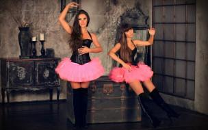 Violin Group DOLLS, девушка, модель