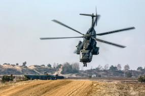 немецкая армия, mh53, вертушка, военный, вертолет