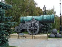 Москва, Россия, Кремль, пушка, Царь