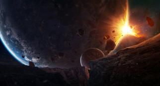 звезды, галактика, вселенная, планеты