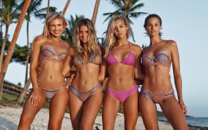Natalie Jayne Roser, Bree Lynn Kleintop, Sarah Kohan, девушка, модель, Gabby Epstein