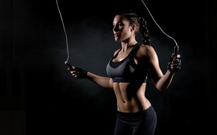 workout, fitness, jump