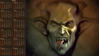 язык, существо, демон, лицо