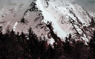 обои для рабочего стола 2560x1600 природа, горы, снег