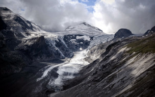 горы, снег