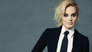 австралийская актриса, блондинка, костюм, знаменитости, марго робби