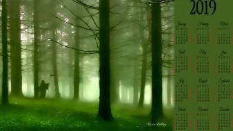 дерево, лес, капюшон, смерть