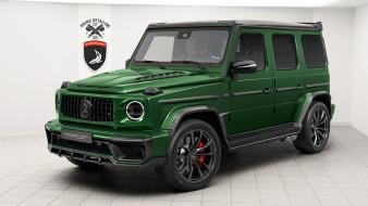 зеленый, тюнинг, гелик, 2019 topcar mercedes benz g klasse inferno, джип